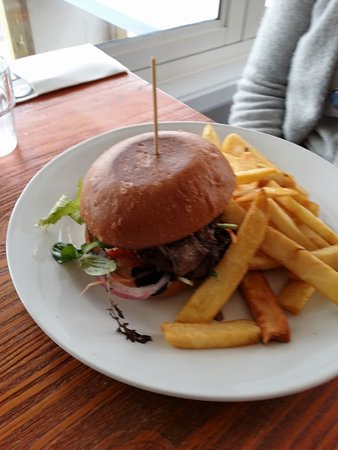 Orewa, Nowa Zelandia: Steak sandwich