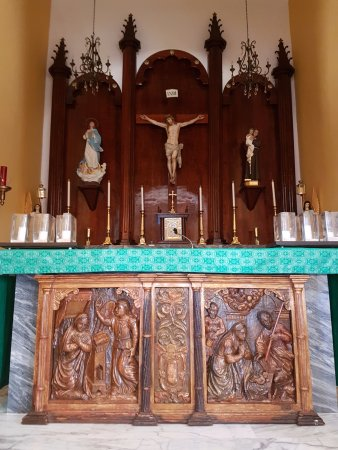 Dorado, Porto Rico : Altar de la iglesia.