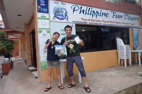 Philippine Fun Divers, Inc.: Certified as PADI Open Water Diver