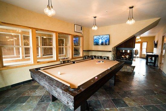 Portola, Californië: Brewery Pool Table