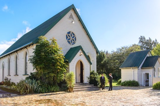 Tamahere, Nouvelle-Zélande : Historical Church on site for your beautiful wedding ceremony