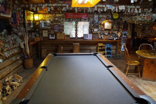 Pine, CO: Pool table