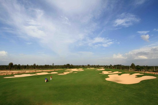 Kolar, Hindistan: The golf course