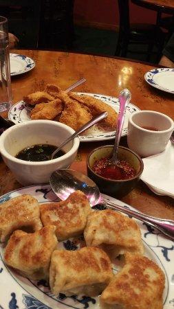 Silver Spring, Μέριλαντ: Jumbo shrimp and pork fried dumplings