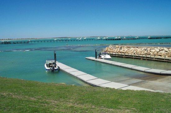 Beachport, Australia: Boat ramp