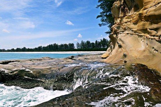Kudat, Malaysia: Tindakon Dazang Beach