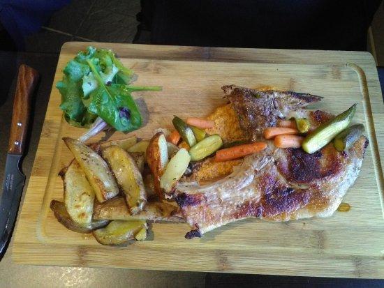 Larressore, Francia: Côte de porc