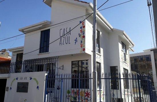 Casa Azul Arte  Diseno Cafe