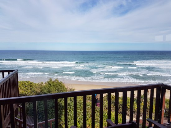 Dolphin Dunes Guesthouse: Stunning balcony view