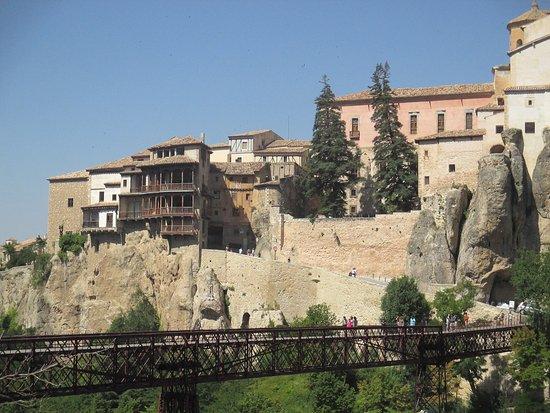 Parador de Cuenca: Casas colgadas desde el parador