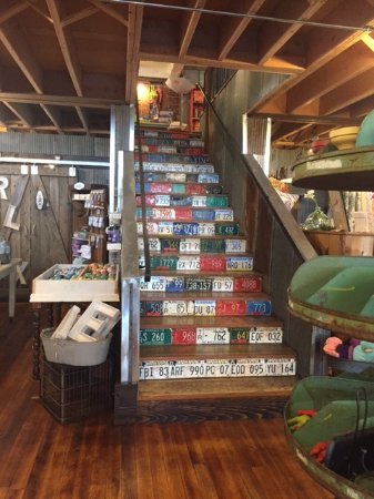 Be Made: Stairs Of License Plates