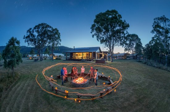 The Fire Pit Picture Of Spicers Canopy Maryvale Tripadvisor