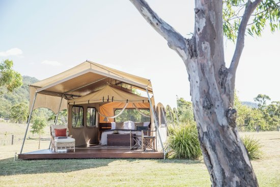 Maryvale, Australia: The tents at Spicers Canopy