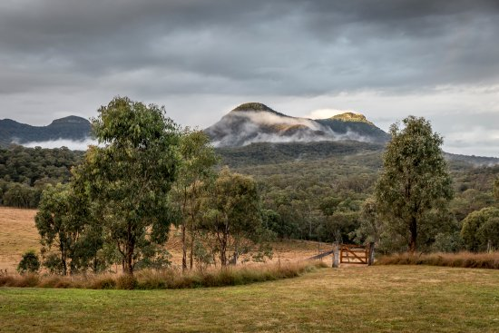 Maryvale, Australia: The view from the Main Lodge