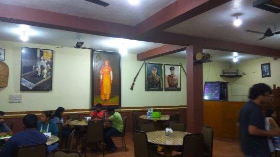 Coorg Cuisine: Restaurant interior