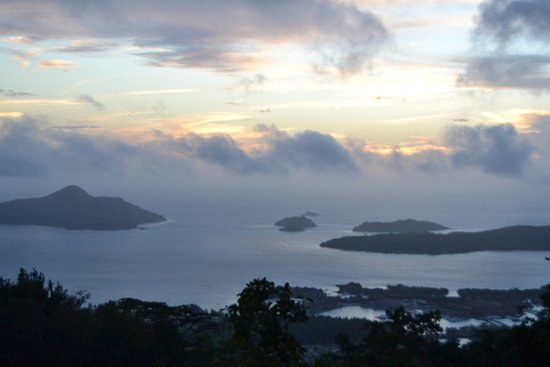 Victoria, Seychellen: View from the top