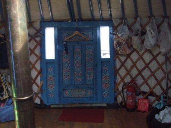 Cape Clear Island, Ireland: Inside the yurt