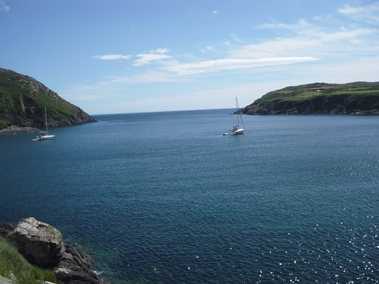 Cape Clear Island, Ireland: This is where i swam