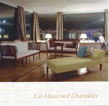 Hotel Stern & Post: Teilansicht des heutigen Salons.