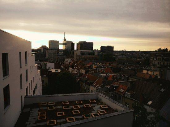 Saint-Josse-ten-Noode, Belgium: Vue depuis notre chambre