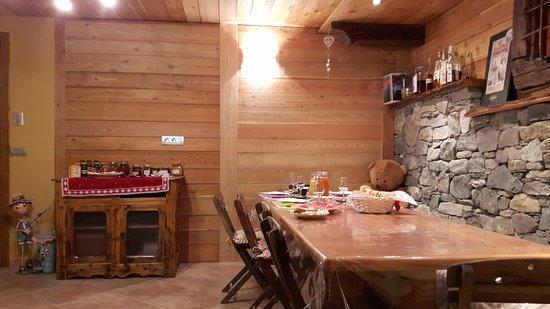 Pollein, Italia: Sala colazioni