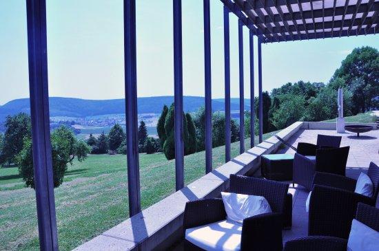 Hausen ob Verena, Alemania: Außenbereich des Seminar-/Festraums