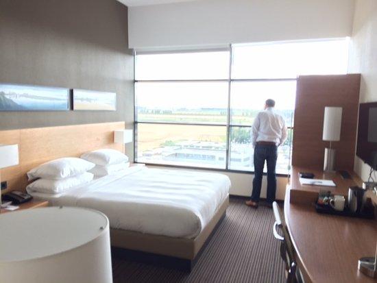 Hoofddorp, The Netherlands: 10th floor kingsize room.