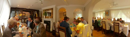 Hartley Wintney, UK: The restaurant