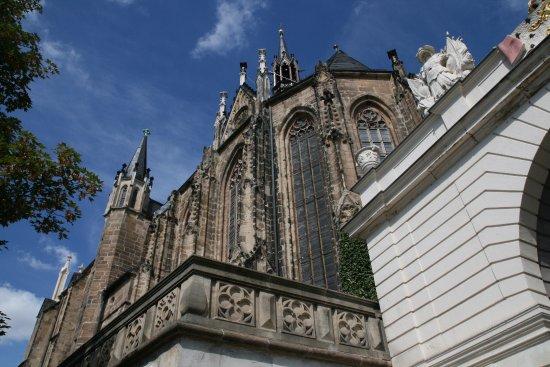 Altenburg, Germany: Die Schlosskirche des Residenzschlosses