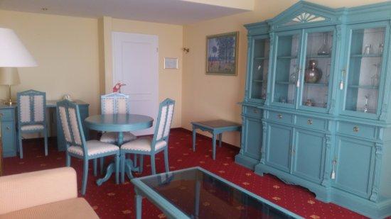 Slaapkamer En Suite : Deel van de suite slaapkamer apart bild von hotel waldesrand