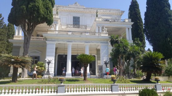 Gastouri, Grekland: Az épület