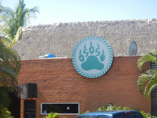 Oso's Oyster Bar: Front of Osos Oyster Bar, La Cruz