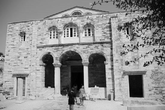 Parikia, Grækenland: la cattedrale