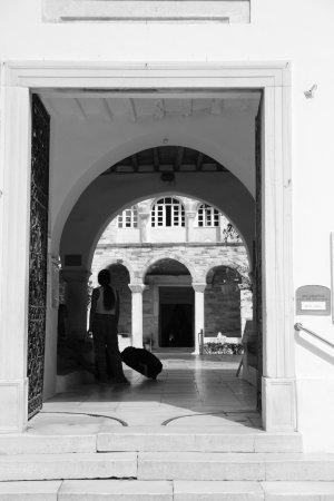 Parikia, Grækenland: ingresso