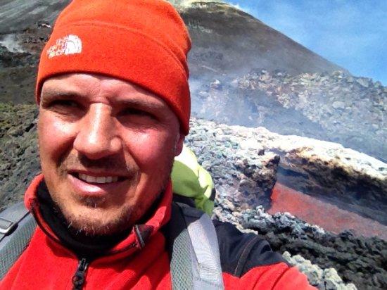 Nicolosi, อิตาลี: Etna colata lavica marzo 2017 - guida vulcanologica Pietro La Rosa
