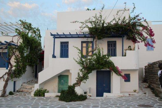 Parikia, Grækenland: tipica casa isolana
