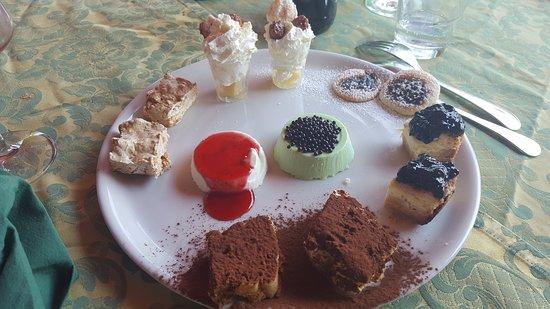 Puegnago sul Garda, Itália: Loren a e i dolci luglio 2017