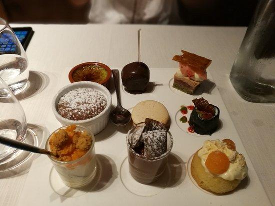 l'Aromat : assortiment de dessert