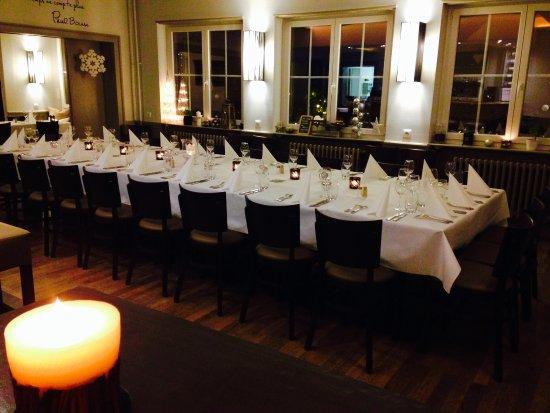 Hatten, France : repas de Noël au PETIT STAMM