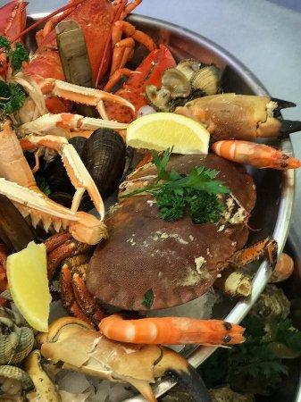 Koekelare, België: seafood dish