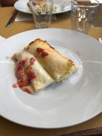 Osteria Alla Vaporiera: Cannelloni buonissimi