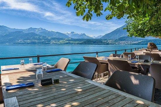 Gunten, Switzerland: Seeterrasse