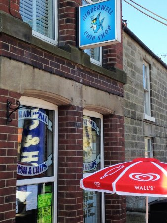 Saltburn-by-the-Sea, UK: Hinderwell Fish and Chip Shop