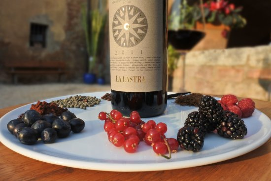 Siena, Itália: Our Rovaio wine, a mix of Sangiovese, Cabernet Sauvignon and Merlot