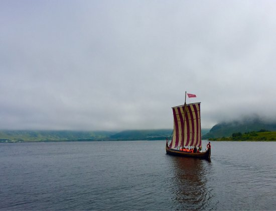 Vestvagoy, Norway: Viking ship replica