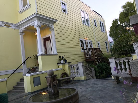 Gay owned Guest House in San Francisco, California.