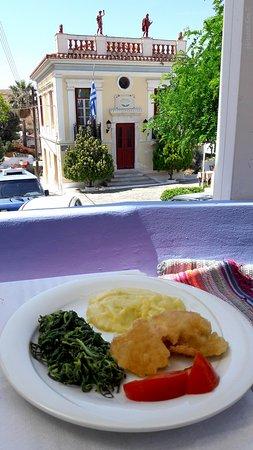 Kea, Greece: from the little balcony