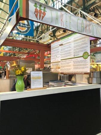 Three Carrots Indianapolis 222 E Market St Restaurant Reviews