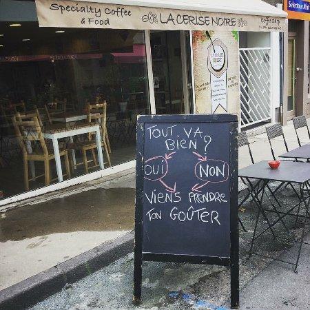 Montbrison, Франция: La Cerise Noire