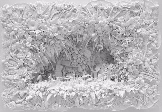 คอร์นนิง, นิวยอร์ก: beautiful relief glass work